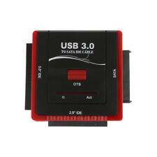 """USB 3.0 to Sata IDE Hard Drive Converter Adapter Combo for 2.5"""" /3.5"""" Laptop"""