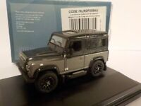 Land Rover Defender 90 - Corris Grey, Oxford Diecast 1/76 New Release Oct - Nove
