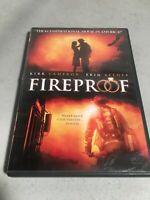 Fireproof Movie Kirk Cameron - DVD -  Good lite scratches