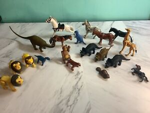 Lot of 19 Vintage Made in Hong -Carolina 1978 Horses & different animals empire