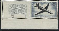 France Caravelle Airmail 500 francs unmounted mint NH sheet corner single