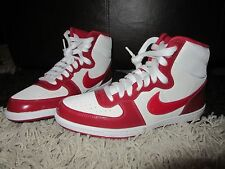 3edfdf30f50e NEW Womens NIKE Trainers UK 5.5 Terminator Lite High Top Red White Suede  Cream