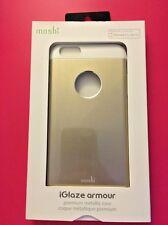 Moshi iGlaze Armour Metallic Case For iPhone 6 Plus/6s Plus - Gold / White - NEW