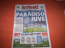 TUTTOSPORT 19/08/2013 LAZIO-JUVENTUS FC 0-4 WINNER SUPERCUP ROMA CALCIO