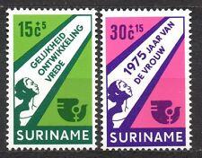 Suriname - 1975 Year of the woman Mi. 693-94 MNH