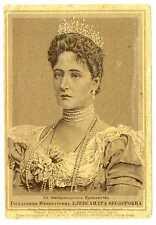 Russian Empress Alexandra Fedorovna Chromolithograph Odessa 1915