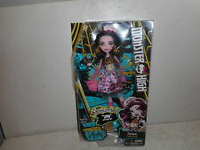 Monster High Shriek Wrecked Doll - Draculaura - Daughter of Dracula - New in Box