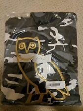 Drake OVO (October's Very Own) Golden Owl Logo Hoodie Black Camo - Medium