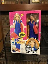 vintage Kenner Six Million Dollar Man THE BIONIC WOMAN Jaime Sommers doll in box