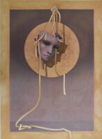 CLEREN Jean-Paul : Le Masque - LITHOGRAPHIE originale signée et numérotée #250ex