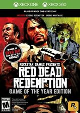 XBOX 360 GAME RED DEAD REDEMPTION: GAME OF THE YEAR BRAND NEW & SEALED