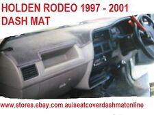 DASH MAT,BLACK  DASHMAT, DASHBOARD COVER  FIT HOLDEN RODEO 1997 - 2001, BLACK