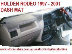 DASH MAT,BLACK  DASHMAT, DASHBOARD COVER  FIT HOLDEN RODEO 1997 - 2001, BLACK