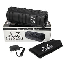 A2Z Fitness 3-Speed Rechargeable Electric Vibrating Foam Roller With carry bag