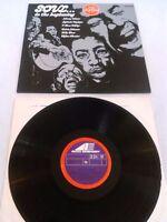 SOUL ...IN THE BEGINNING LP UK AVCO LIGHTNIN HOPKINS JOHNNY WINTER T-BONE WALKER