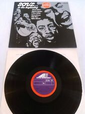 SOUL ...IN THE BEGINNING LP UK AVCO LIGHTNIN HOPKINS JOHNNY WINTER T-BONE WALKER