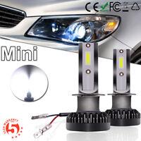 2 Bombilla Coche LED Luz COB Faro Lampara H1 20000LM 110W 6000K Conversión Kit