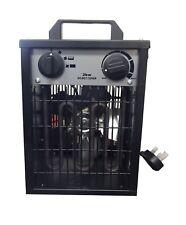 2KW Electric Portable Fan Heater Adjustable Heat Greenhouse Hydroponics