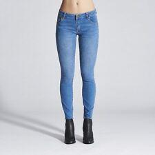 Wrangler Women's Pins Stretch Skinny Denim Jeans Mariel Blue RRP $139.95