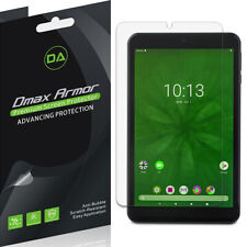 3X Dmax Armor Clear Screen Protector for Onn 8 inch Tablet