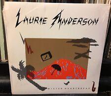 sealed LAURIE ANDERSON Mister Heartbreak 1984 Warner Bros  9 25077-1