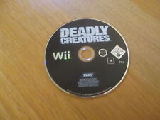 Deadly Creatures / Jeu Wii / CD SEUL