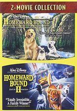 Homeward Bound - The Incredible Journey / Homeward Bound II(Format:DVD)