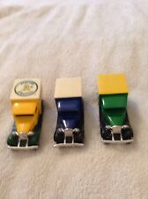 Lot 12 of 3 Matchbox Model A Ford vehicles diecast vintage 1979