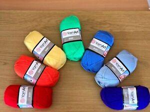 Yarn Art Baby Rainbow Selection DK Hand Knitting Yarn - 350g