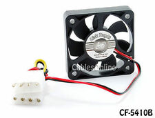 50x50x10mm 4-Pin Molex DC Ball Bearing PC Computer Case Cooling Fan - CF-5410B