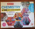Vintage Merit Chemistry Set No. 3 Original Box Near Complete Educational Kit