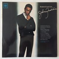 JOHNNY MATHIS~ROMANTICALLY~1963 UK 12-TRACK MONO VINYL LP RECORD~CBS BPG 62202