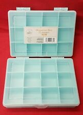 So Crafty Organiser Box Pack of 2  - Ideal for Crafts / Sewing