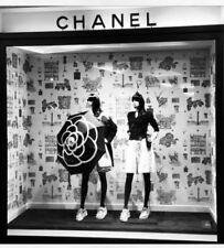 Chanel VIP Umbrella Set - Black Camelia - Box, sleeve & crossbody carrying case