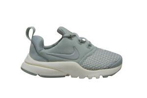Kids Nike Presto Fly SE (PS) - AA3064005 - Grey White Trainers