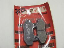 plaquettes de frein avant  SEMC H016  HYOSUNG 125 COMET AGUILA KARION 650 COMET