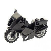 1x Lego Motorrad schwarz Polizeimotorrad 7785 7993 52035c01