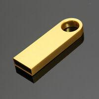 32GB USB 2.0 Metal Flash Memory Stick Storage Thumb Pen Drive U Disk Ring