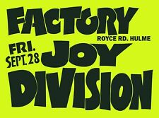More details for joy division poster a3 repro 24hr dispatch