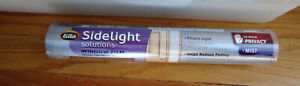 """GILA Sidelight Solutions ~Window Film ~12"""" x 6.5' ~ Static Cling ~ No Adhesives"""