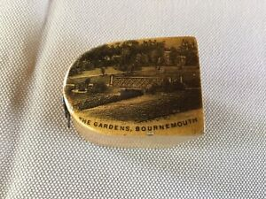 C1800's Mauchlin Ware Thimble Holder W Thimble Gardens Bournemouth