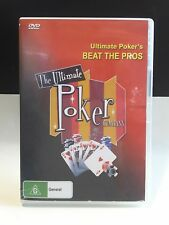 Poker Learn to Play DVD_Texas Hold Em LESSONS_ULTIMATE POKER_BEAT THE PROS