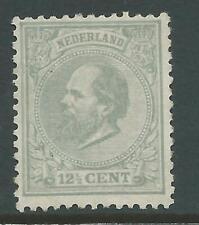 1872TG Nederland Koning Willem111 NR.22L plakker/MH zie foto's!