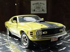 Ertl American Muscle 1970 Ford Mustang Mach 1 33751 1:18 Scale Diecast Model Car