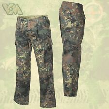 New German Army Pants Flecktarn Bw Field Trousers after Tl Nato Military Fishing.