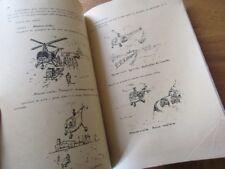 GENERALITES SUR LES VOILURES TOURNANTES GIRAVIONS HELICOPTERE 1954 MECANIQUE