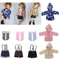 1//4MSD 1//3SD BJD Outfit Clothes Sheath Dress+Jacket Fashion Mix Match AOD LUTS