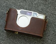 Leather Contax T2 Half Case (Colour Choice) - BRAND NEW