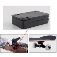 4x Skateboard Riser Pads Longboard Shockpads Longboards Hardware Accessories
