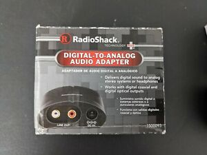 RadioShack Digital Audio to Analog Converter